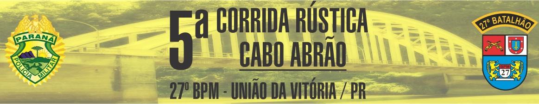 5ª CORRIDA RÚSTICA CABO ABRÃO