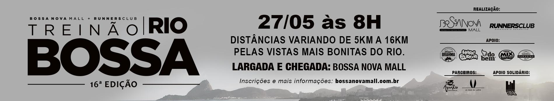 TREINÃO BOSSA - RIO DE JANEIRO RJ  - MAIO - Imagem de topo
