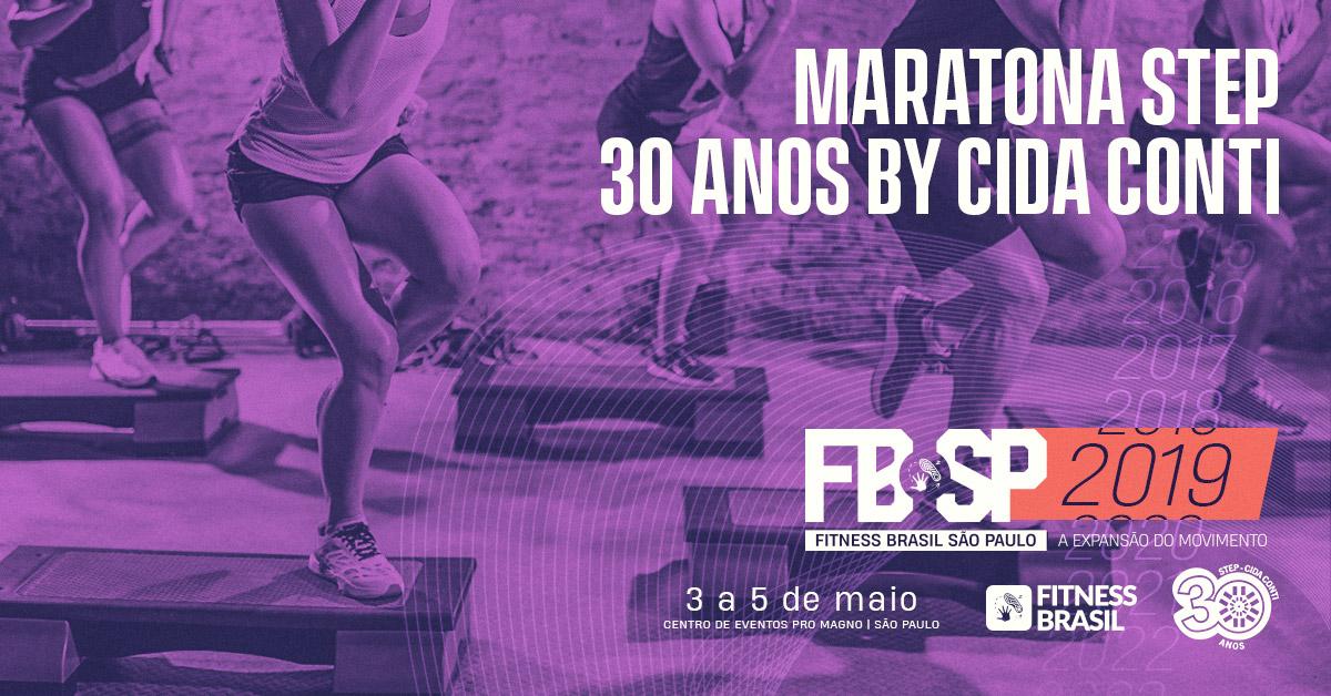 FITNESS BRASIL - MARATONA DE STEP 30 ANOS