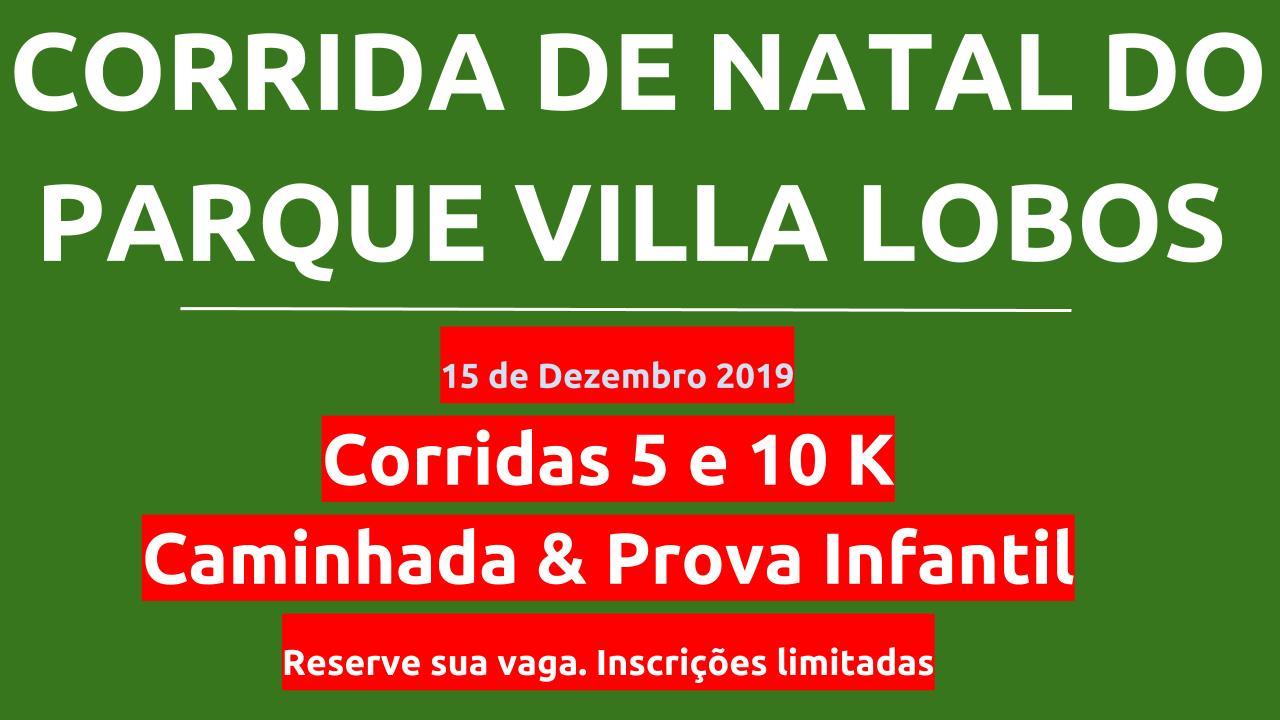 CORRIDA DE NATAL DO PARQUE VILLA LOBOS