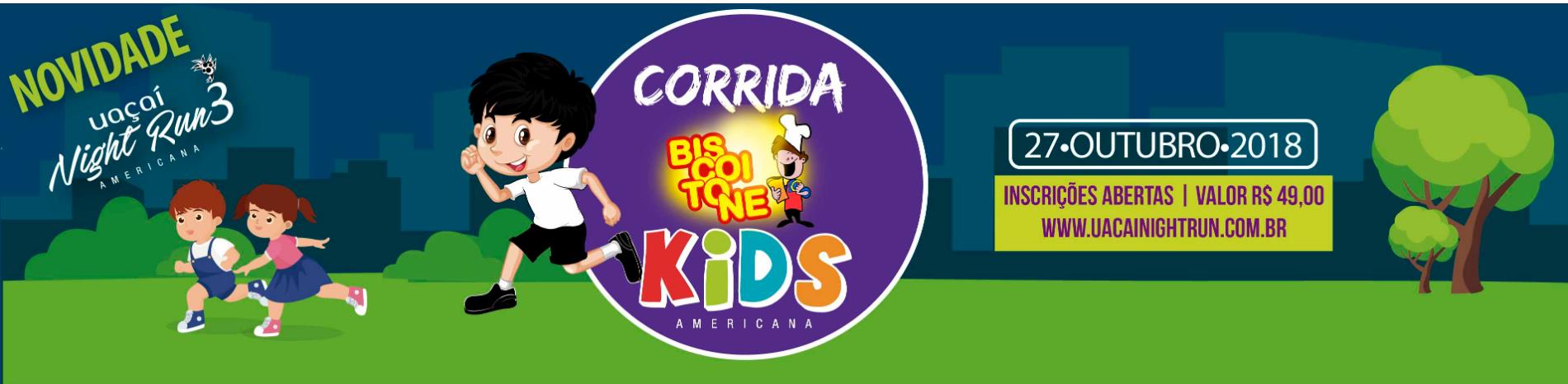 CORRIDA UAÇAÍ KIDS