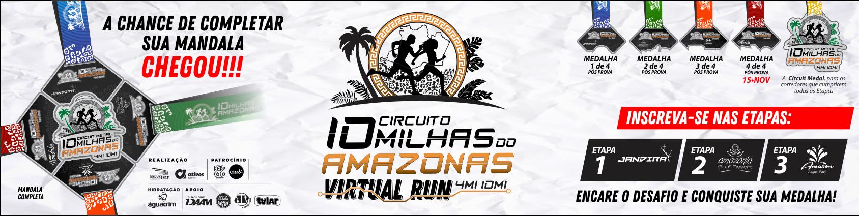10 Milhas do Amazonas - Virtual Run