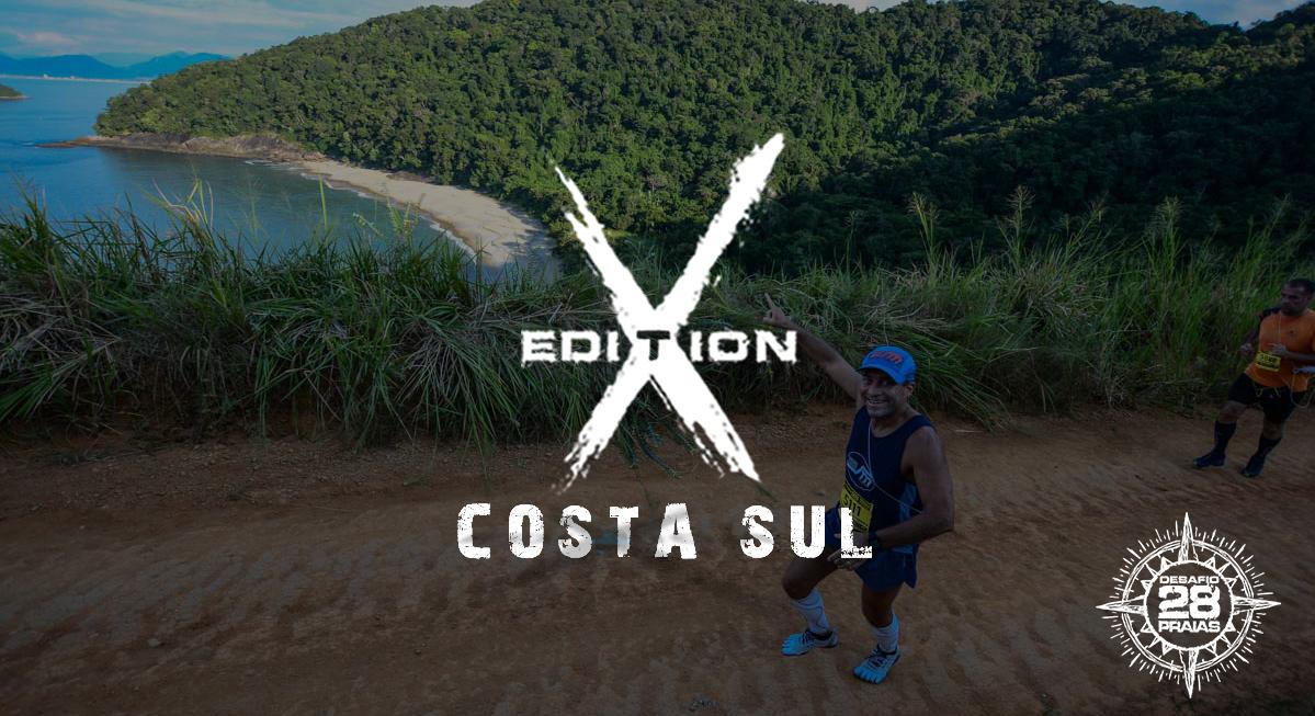 10º Edição Desafio 28 praias - Costa Sul