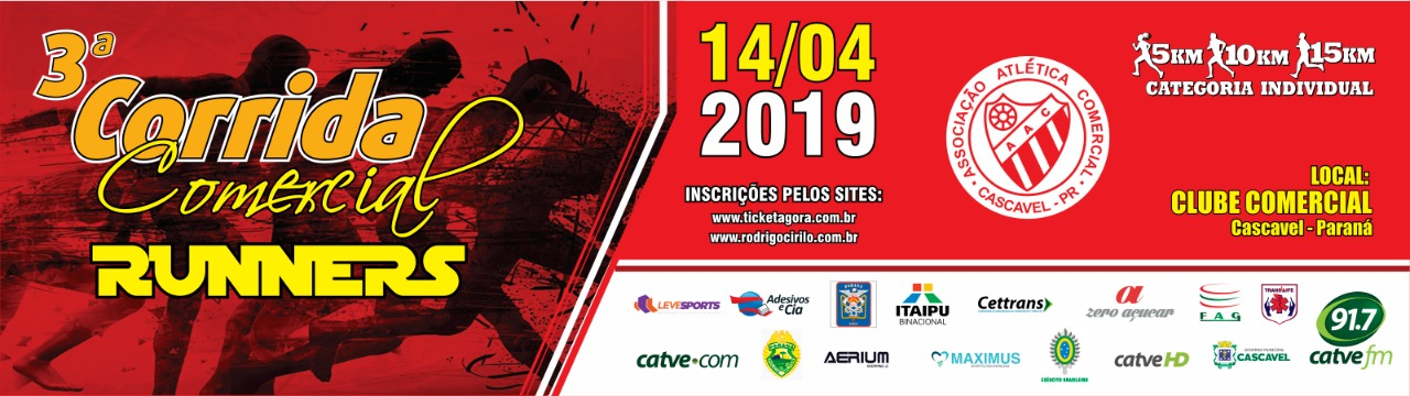 3ª CORRIDA CLUBE COMERCIAL RUNNERS