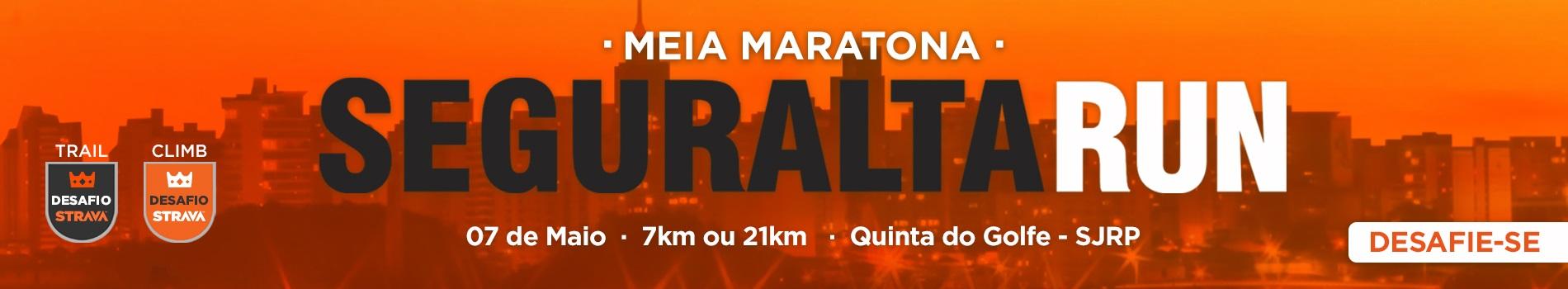 MEIA MARATONA SEGURALTA 2017 - 21K E 7K - Imagem de topo