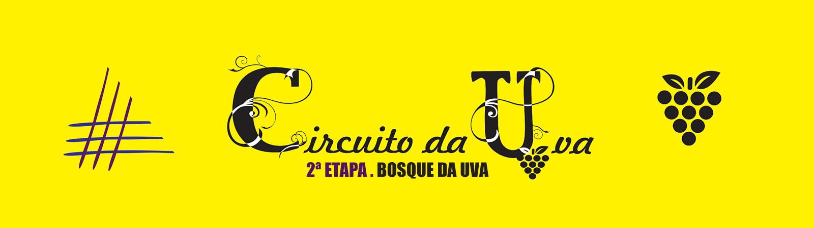 CIRCUITO DA UVA DE CORRIDAS DE RUA 2017 - 2ª ETAPA - BOSQUE DA UVA - Imagem de topo