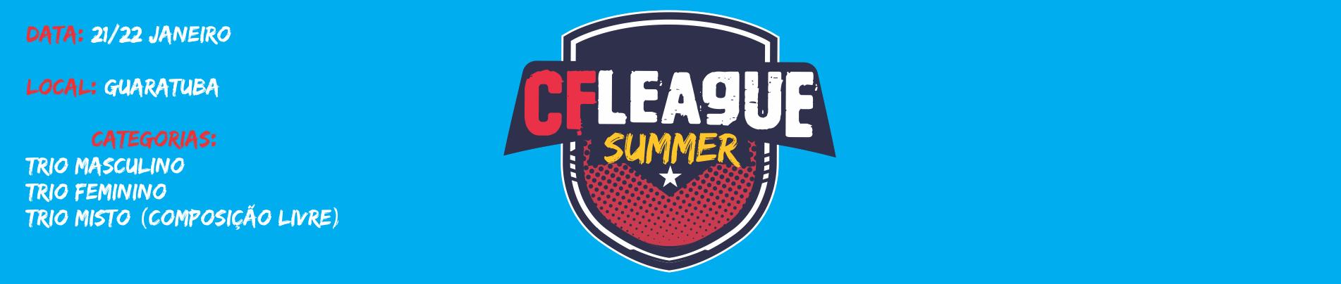 CF LEAGUE SUMMER - 2017 - Imagem de topo