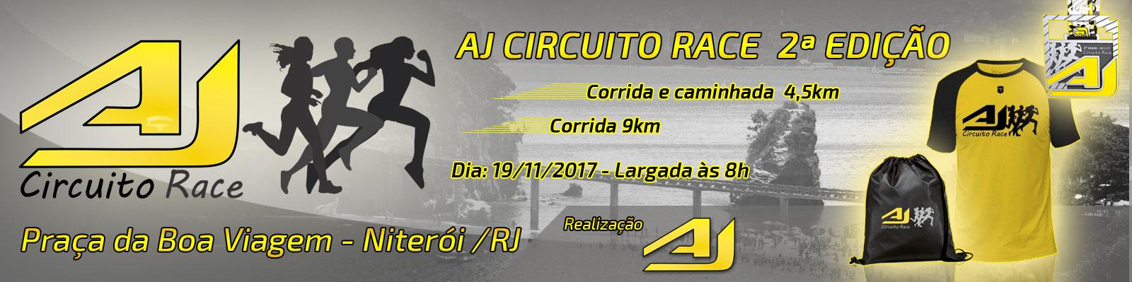 AJ CIRCUITO RACE 2ª EDIÇÃO - NITERÓI/RJ - Imagem de topo
