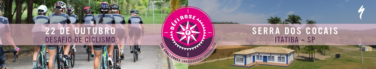 DÉFI ROSE - SERRA DOS COCAIS  - Imagem de topo