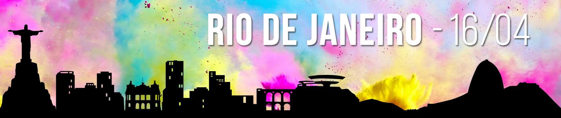 THE COLOR RUN RIO - Imagem de topo