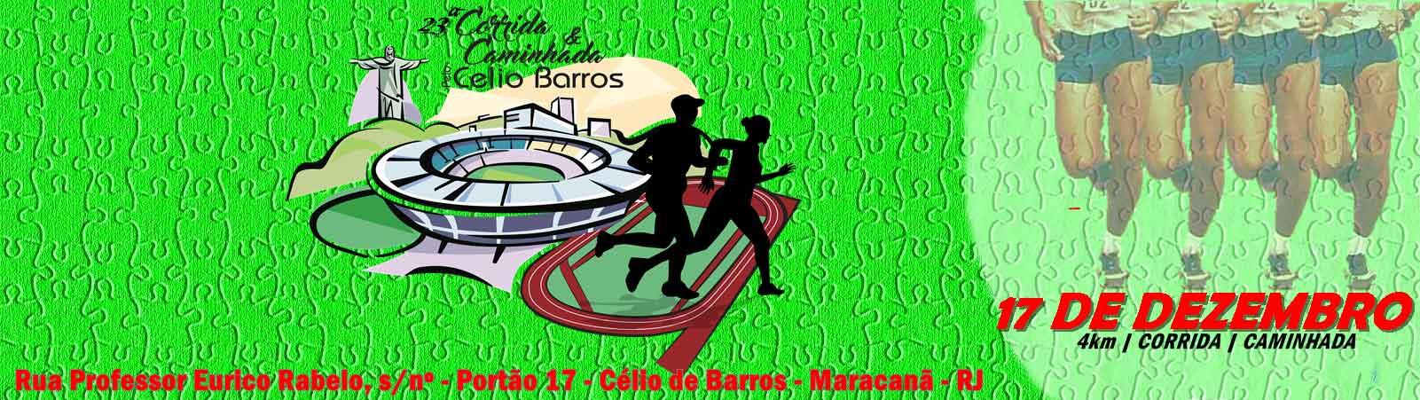 23ª CORRIDA E CAMINHADA DE CONFRATERNIZAÇÃO PELA RECONSTRUÇÃO DO ESTÁDIO DE ATLETISMO CÉLIO DE BARROS - Imagem de topo