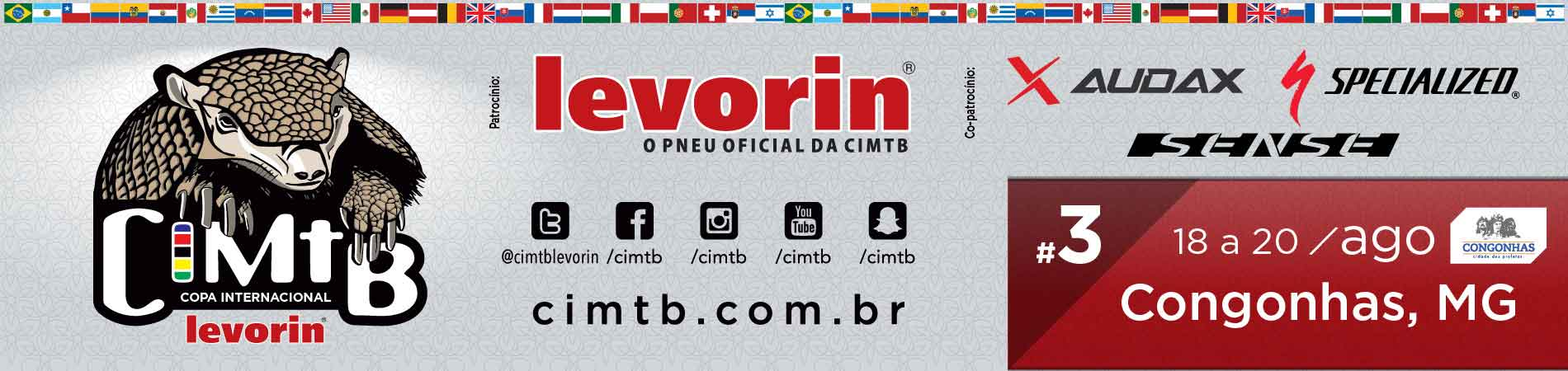 COPA INTERNACIONAL LEVORIN DE MTB - XCM CONGONHAS - Imagem de topo