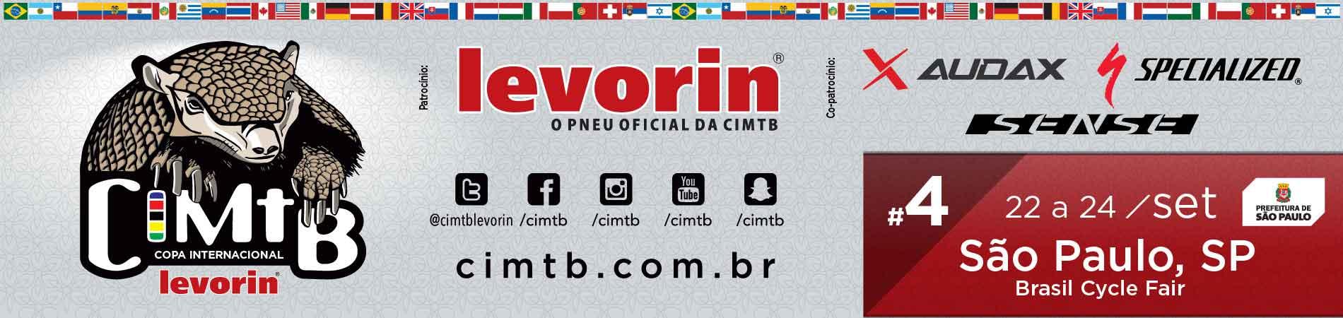 COPA INTERNACIONAL LEVORIN DE MTB - XCO E XCC SÃO PAULO - Imagem de topo