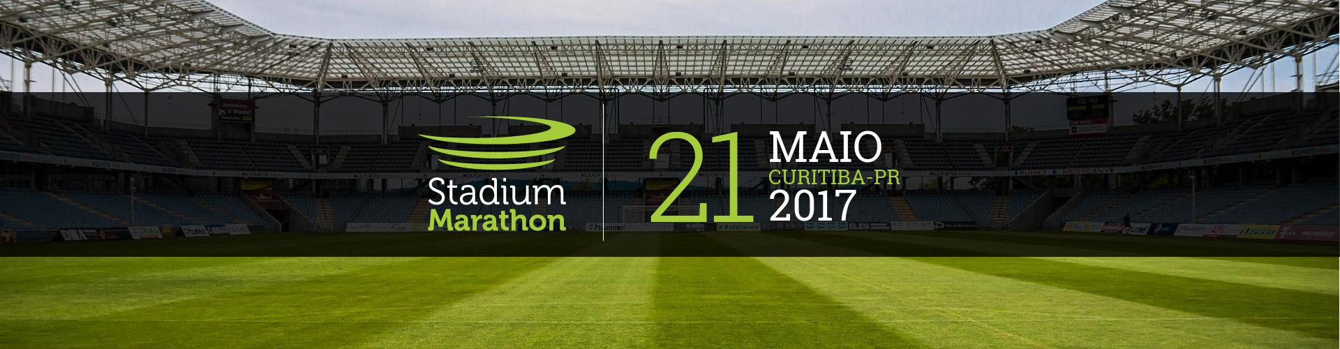CORRIDA I-RUN - STADIUM MARATHON 2017 - Imagem de topo