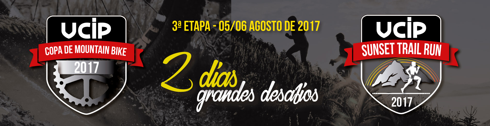 COPA UCIP DE MOUNTAIN BIKE - 3ª ETAPA 2017 - Imagem de topo