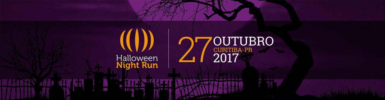 CORRIDA I-RUN - HALLOWEEN NIGHT RUN - 2017 - Imagem de topo