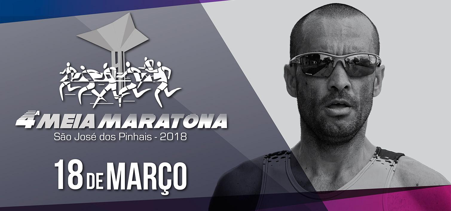 4ª MEIA MARATONA DE SÃO JOSÉ DOS PINHAIS - 2018 - Imagem de topo