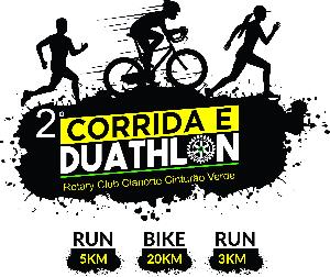 2ª CORRIDA 5K ROTARY CLUB CIANORTE CINTURÃO VERDE E DUATHLON - Imagem do evento