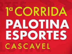 1º CORRIDA PALOTINA ESPORTESCERTTO TELECOM - Imagem do evento