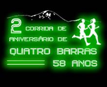 2ª CORRIDA DE ANIVERSÁRIO QUATRO BARRAS