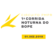 CIRCUITO PMPR 4ª ETAPA - 1ª CORRIDA NOTURNA DA POLÍCIA MILITAR DO PARANÁ - BOPE - Imagem do evento
