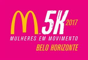 CORRIDA E CAMINHADA FEMININA McDONALD'S 5K 2017 - BELO HORIZONTE - Imagem do evento