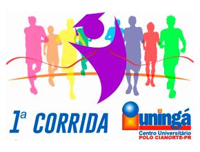 1ª CORRIDA DE RUA UNINGÁ - POLO CIANORTE - Imagem do evento