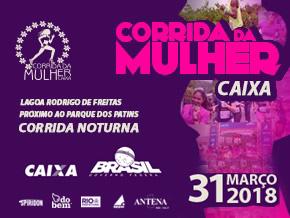 CORRIDA DA MULHER CAIXA 2018 - Imagem do evento