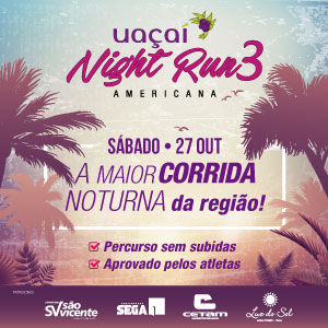 3ª UAÇAI NIGHT RUN