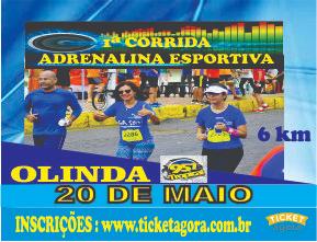 1ª CORRIDA ADRENALINA ESPORTIVA - Imagem do evento