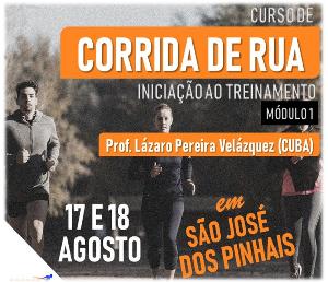 CURSO DE CORRIDA DE RUA - INICIAÇÃO AO TREINAMENTO - Imagem do evento