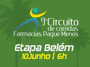 9º CIRCUITO DE CORRIDAS FARMÁCIAS PAGUE MENOS - ETAPA BELÉM - Imagem do evento