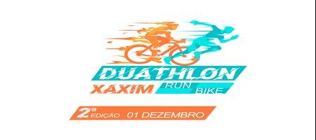 2ª  EDIÇÃO DO DUATHLON XAXIM