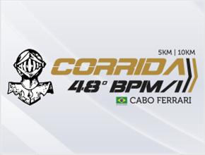 CORRIDA DO 48º BATALHÃO DA POLICIA MILITAR - Imagem do evento