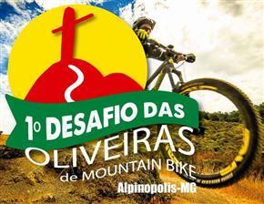 1º DESAFIO DAS OLIVEIRAS DE MOUNTAIN BIKE - Imagem do evento