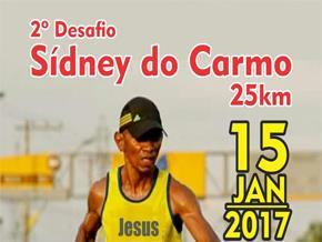 2º DESAFIO SÍDNEY DO CARMO 25KM 2017 - Imagem do evento