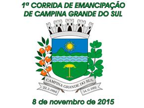 1ª CORRIDA DE EMANCIPAÇÃO CAMPINA GRANDE DO SUL - Imagem do evento