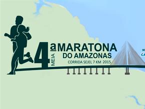4ª MEIA MARATONA CAIXA DO AMAZONAS - Imagem do evento