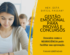 Gestão emocional para provas e concursos - Imagem do evento
