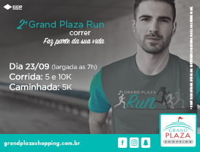 2° grand plaza run - Imagem do evento