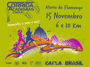 CORRIDA DAS ACADEMIAS CAIXA - 2015 - Imagem do evento