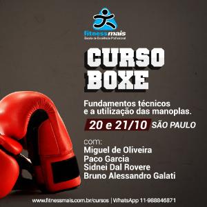 Curso de Boxe Fundamentos Técnicos e a Utilização das Manoplas