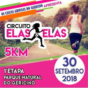 CORRIDA ELAS e  ELAS - 5 KM