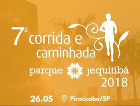 7ª CORRIDA E CAMINHADA PARQUE JEQUITIBÁ - Imagem do evento