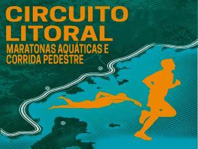 CIRCUITO LITORAL - MARATONAS AQUÁTICAS E CORRIDA PEDESTRE - Imagem do evento