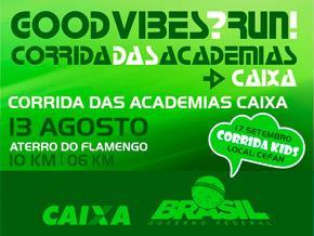 CORRIDA DAS ACADEMIAS CAIXA - 2017 - Imagem do evento