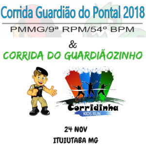CORRIDA GUARDIÃO DO PONTAL 2018 - Imagem do evento