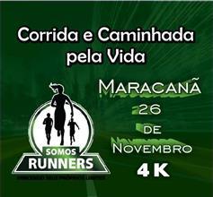 SOMOS RUNNERS CORRIDA E CAMINHADA PELA VIDA - Imagem do evento