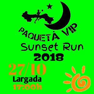 Paquetá Vip SUNSET RUN 2018 - Imagem do evento