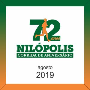 CORRIDA DE ANIVERSÁRIO DE 72 ANOS DE NILÓPOLIS